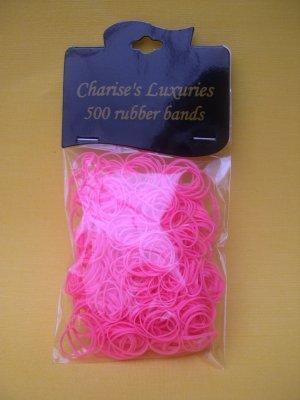 Elasticos Charise's Luxury Rosa