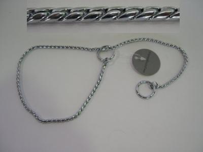 Coleira exposição silver