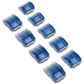 Conjunto de 9 Pentes plastico p/ laminas A5